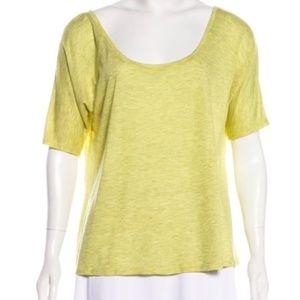 ALICE + OLIVIA Striped Scoop Neck T-Shirt